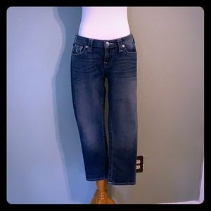Like New cropped jeans
